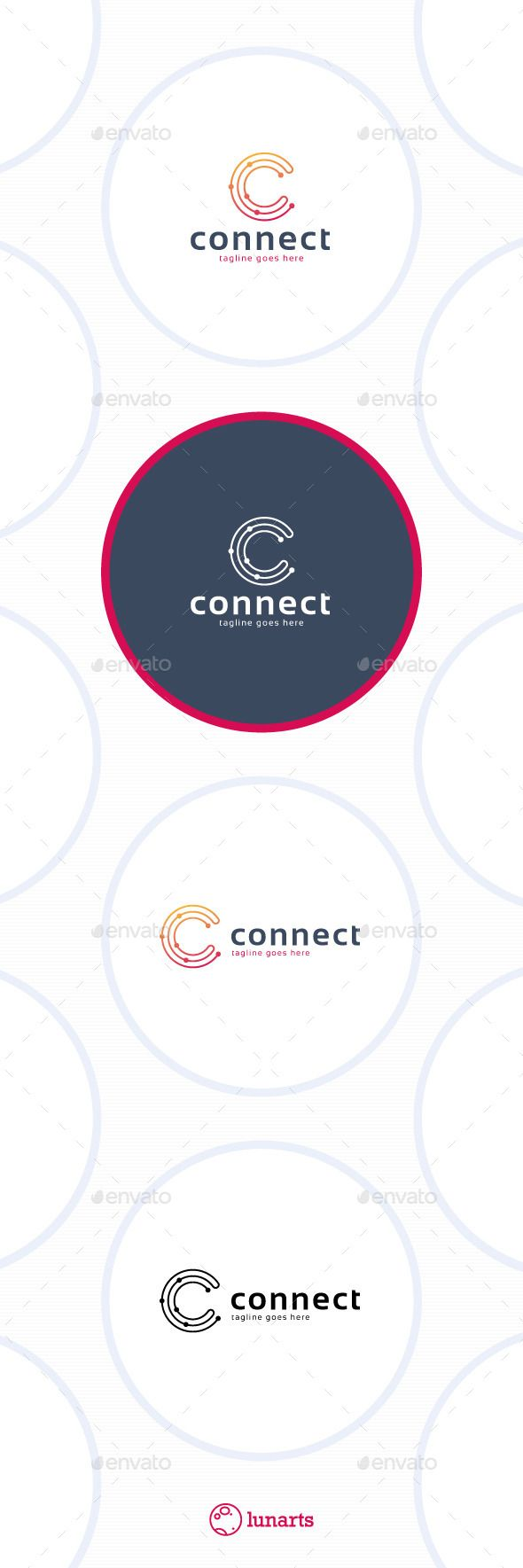 Connect Line Letter C - Logo Design Template Vector #logotype Download it here: http://graphicriver.net/item/connect-line-logo-letter-c/11592971?s_rank=1335?ref=nexion