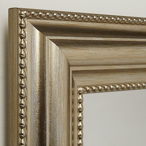 Buy John Lewis Bead Mirror, Champagne, 110 x 79cm Online at johnlewis.com