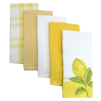 Town & Country Home Lemon Kitchen Towels (Target)