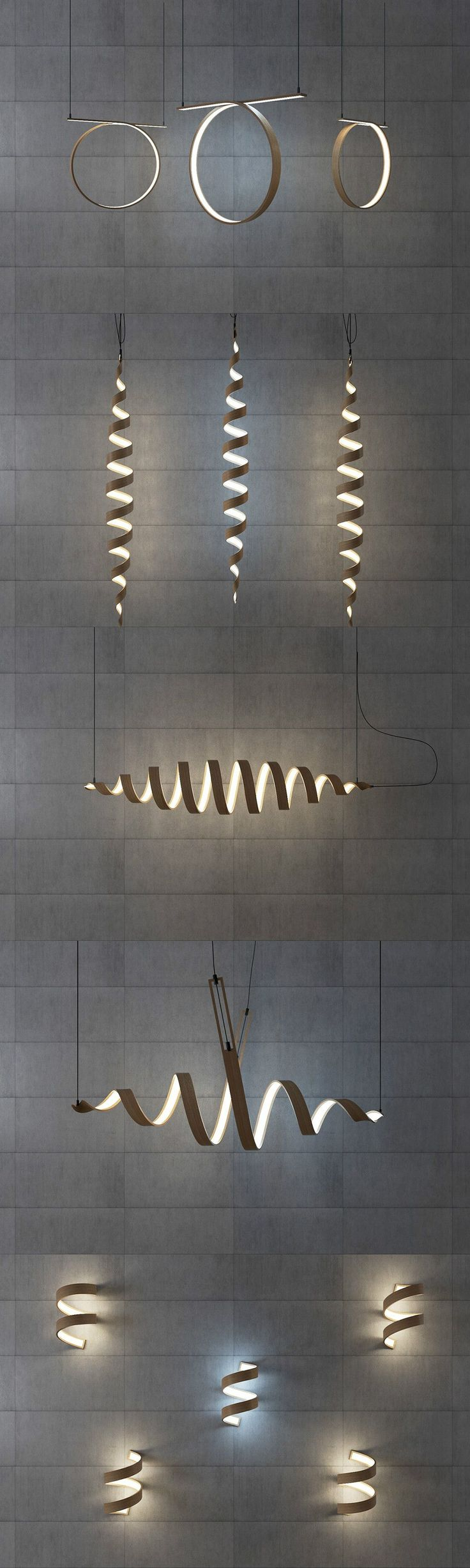 best 25 led lighting home ideas on pinterest used lighting a twist of light read more at yanko design