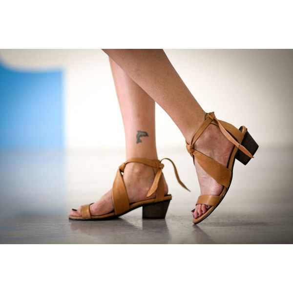New Leather Sandals Camel Heels Sandals Handmade Sandals Camel Summer... ($220) ❤ liked on Polyvore featuring shoes, sandals, silver, women's shoes, strappy sandals, strappy heel sandals, boho sandals, summer sandals and strappy high heel sandals