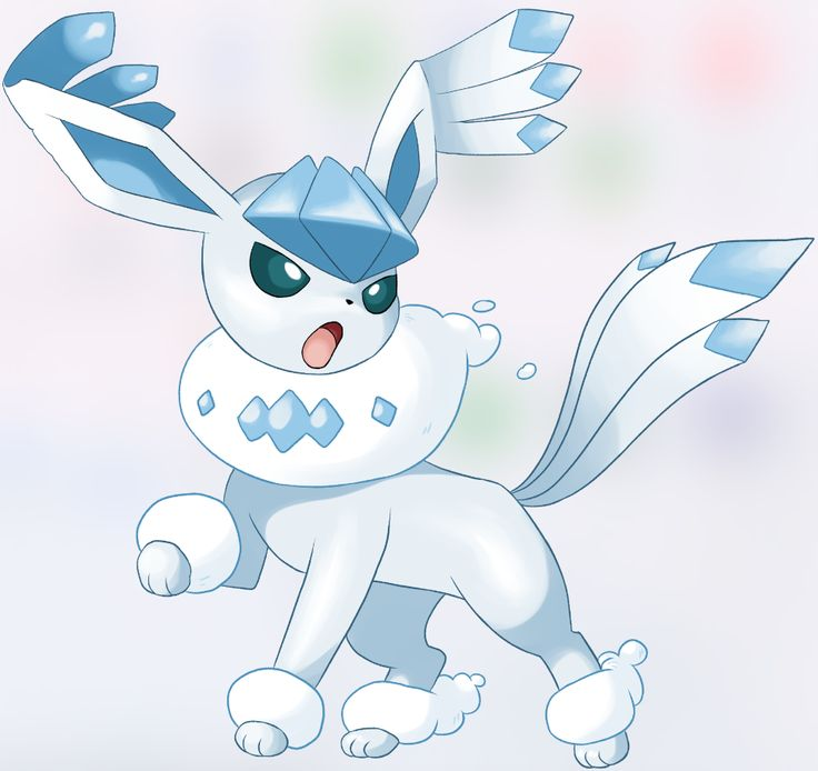 Flying Type Glaceon (Video Link in Comments)