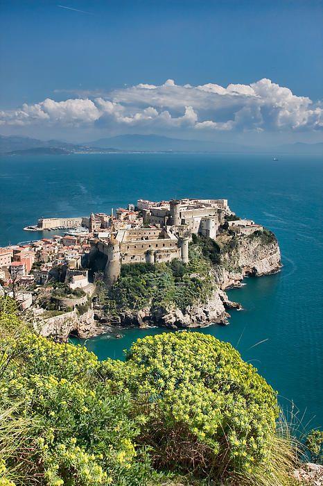 Aragonese Castle in Gaeta, Italy by Gabriela Insuratelu