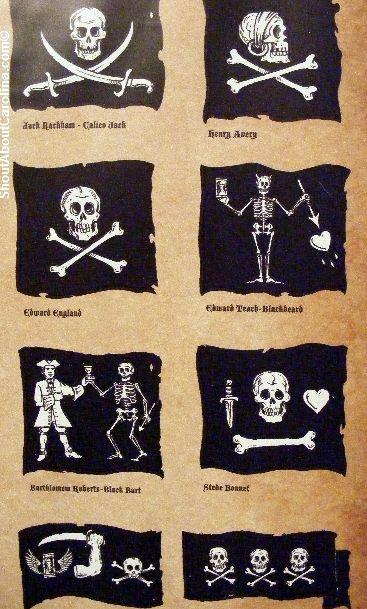 Banderas pirata famosas.                                                                                                                                                                                 Más