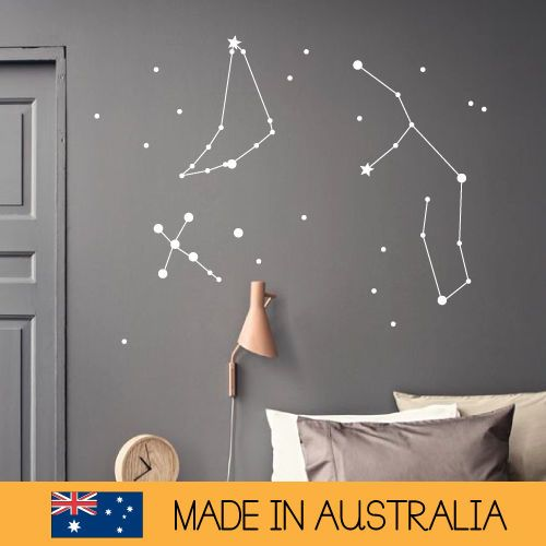 Create Your Own Star Wall Sticker Bedroom Hipster Cool Kids MS197VC Part 65