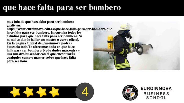 que hace falta para ser bombero - mas info de que hace falta para ser bombero gratis en: https://www.euroinnova.edu.es/que-hace-falta-para-ser-bombero.    que hace falta para ser bombero. Encuentra todos los estudios para que hace falta para ser bombero. Si no sabes donde hallar un master o curso oficial. En la página Oficial de Euroinnova podrás buscarlo todo.    Te ofrecemos todo en que hace falta para ser bombero. No lo dudes másentra y usa nuestro buscador con el que encontrarás…