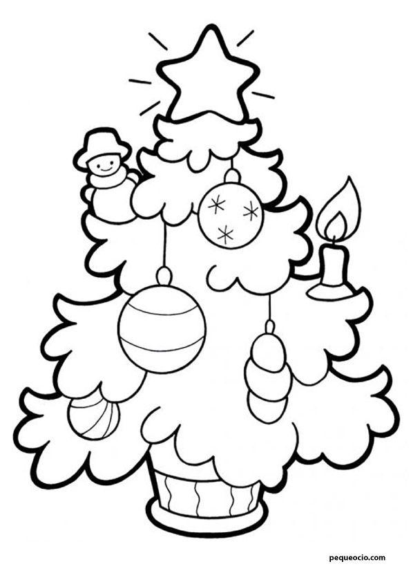 20 árboles De Navidad Para Colorear Y Cómo Dibujar Un árbol Navideño Pequeocio árbol De Navidad Para Colorear Dibujo Navidad Para Colorear Dibujo De Navidad