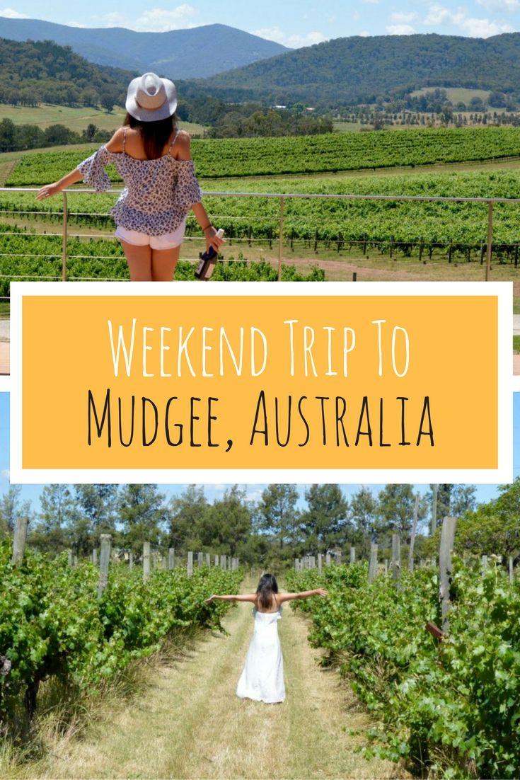 Weekend Trip to the Mudgee Wine Region, Sydney, Australia