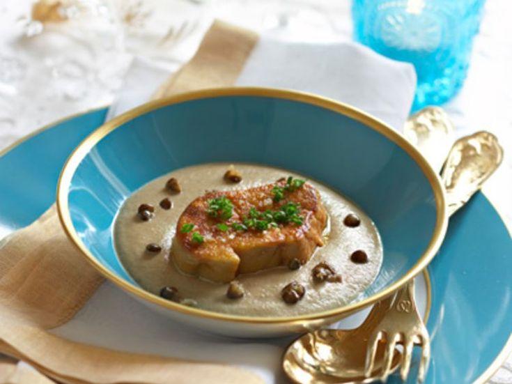 Découvrez la recette Foie gras poêlé aux lentilles sur cuisineactuelle.fr.