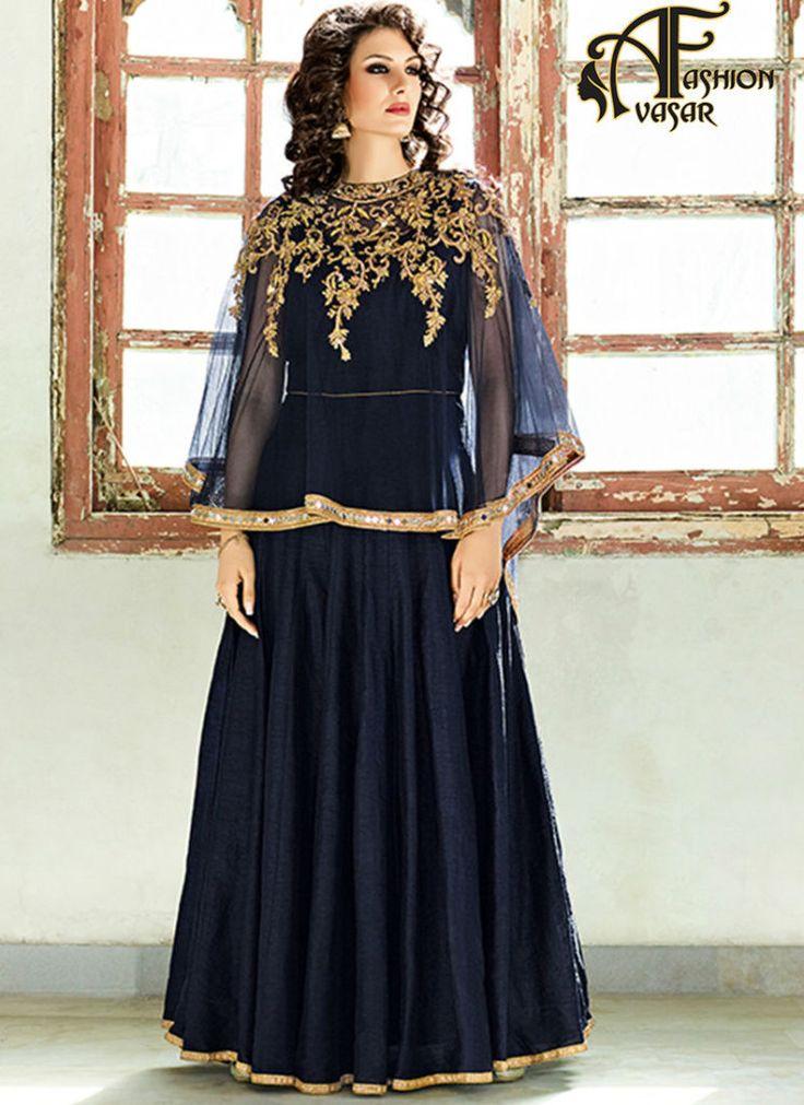 wedding bride dress – heavy designer anarkali salwar suits wedding