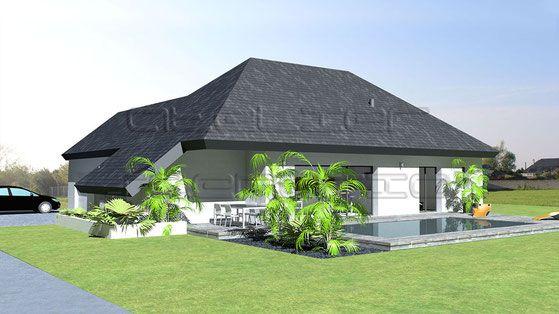 Les 25 meilleures id es de la cat gorie toiture ardoise for Maison moderne toit pente