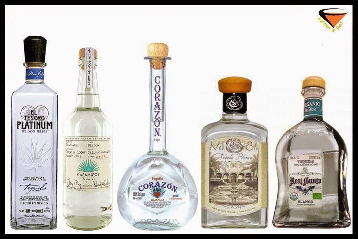 10 mejores Tequilas Blancos del mundo 2014