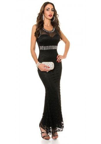 Čipkované šaty KouCla Black