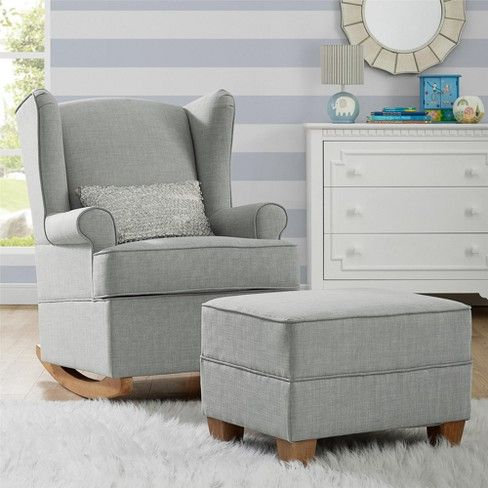 Sensational Baby Relax Brennan Wingback Convertible Rocker Nursery Caraccident5 Cool Chair Designs And Ideas Caraccident5Info