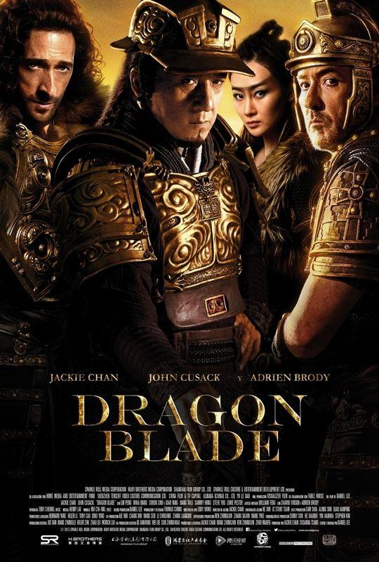 Jackie Chan. John Cusack. Adrien Brody. Tráiler y cartel españoles de 'Dragon Blade'