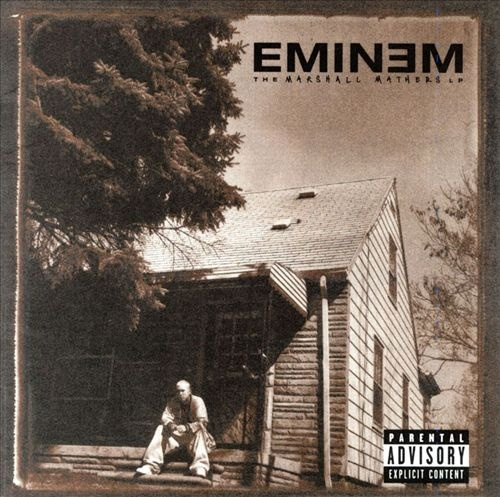 #Eminem - The Marshall Mathers LP - I almost forgot about this one. Kill You, The Way I Am, The Real Slim Shady, Marshall Mathers, Drug Ballad, Kim, Stan