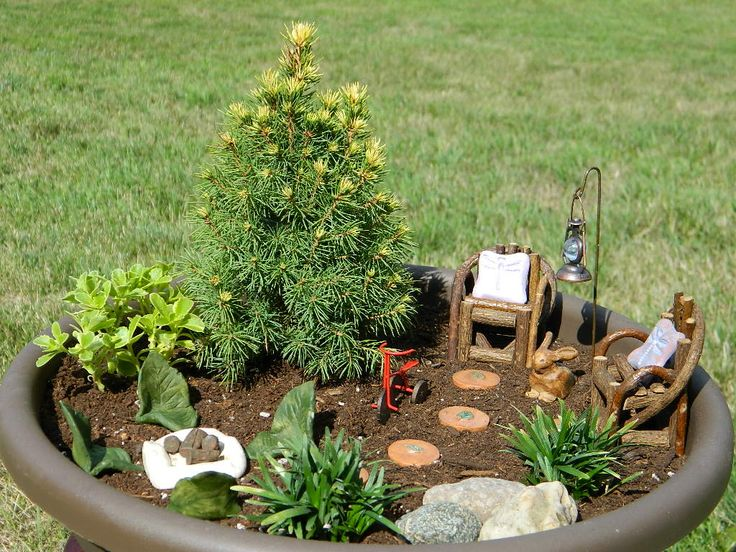 24 Best Fairy Garden Images On Pinterest Fairies Garden