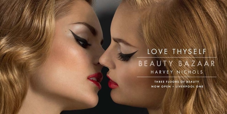 "Harvey Nichols' New Sensual ""Love Thyself"" Ads"