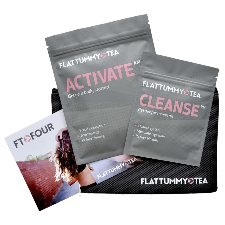 2 step easy tea detox to reduce bloating and get a flat tummy! by flattummytea | Flat Tummy Tea