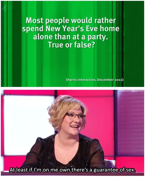 When she gleefully revealed her New Year plans.   21 Times Sarah Millican Spoke For Women Everywhere
