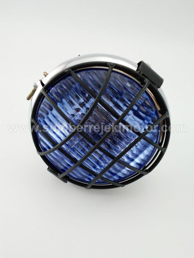 Lampu Depan CB Teralis