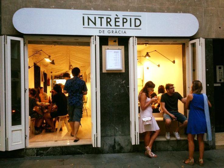Intrèpid de Gràcia - Barcelona- Tapas y tentempiés elaborados con cariño y buen gusto