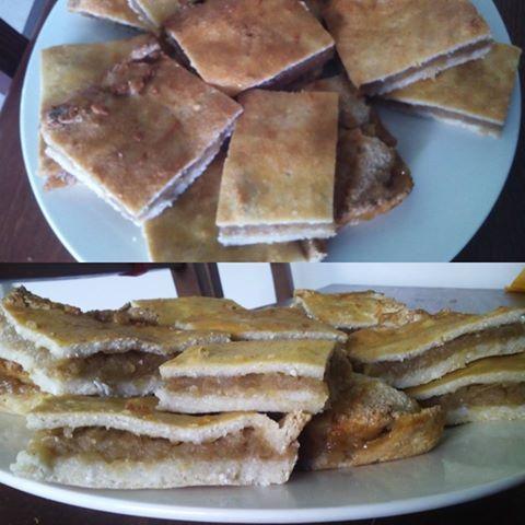 Mindenmentes almás pite (paleo, vegán, tojásmentes, tejmentes, gluténmentes, cukormentes, élesztőmentes)