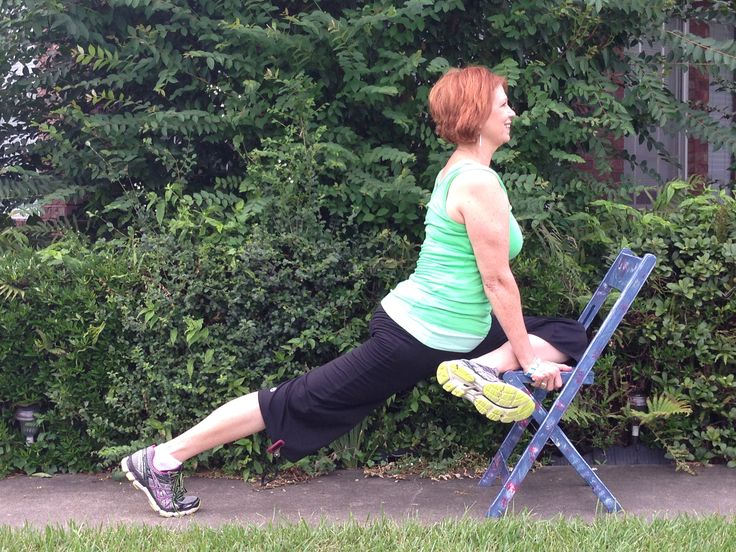 214 best images about Chair Yoga. chair yoga fitness on ...