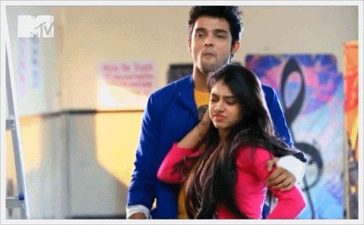 Manik and Nandini from Kaisi Yeh Yaariyan. sooooo cuute together!!!!