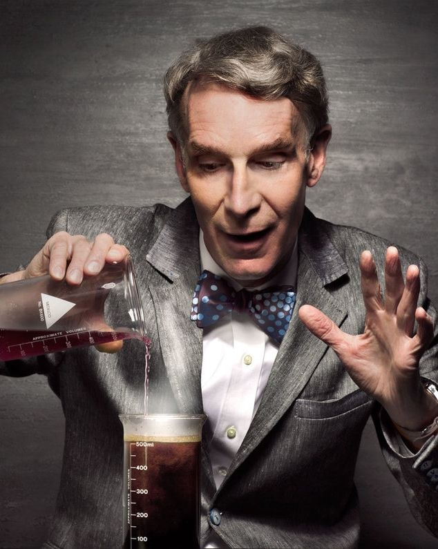 "William Sanford ""Bill"" Nye (born November 27, 1955), popularly known as Bill Nye…"