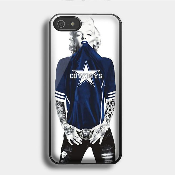 Marilyn Monroe Dallas Cowbo for iPhone & Samsung Case