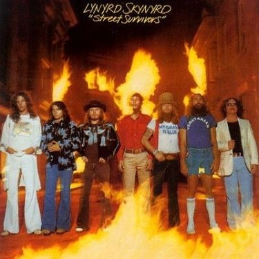 Lynyrd Skynyrd - Street Survivors My friend bought this album a week before the plane crash. They pulled any remaining albums and released a variant cover. - J Roboto