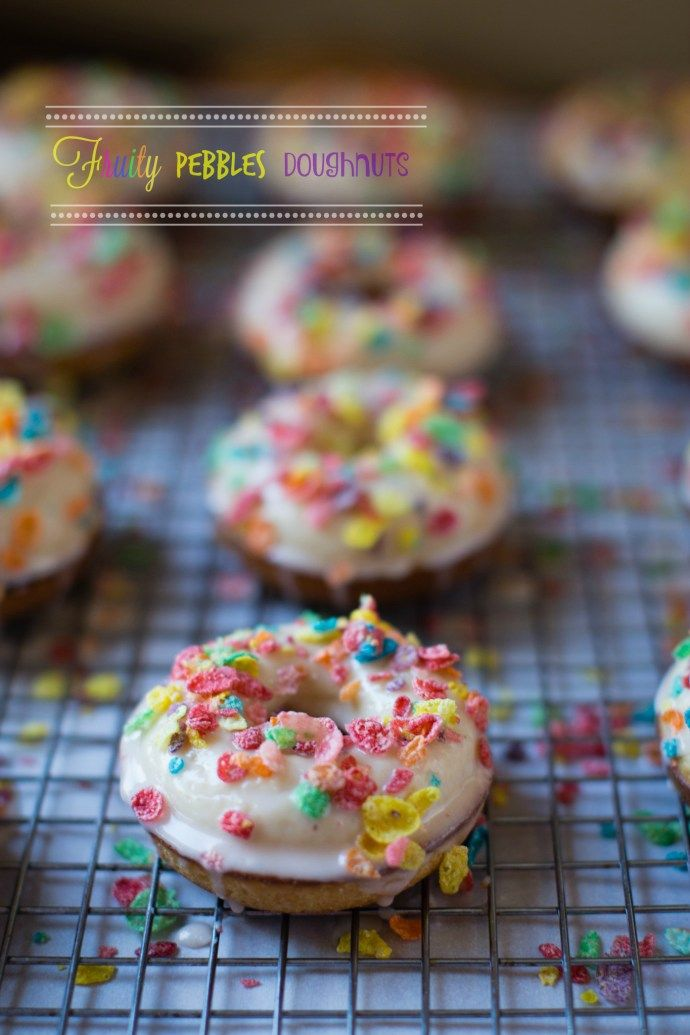 fruity pebbles cereal donuts recipe