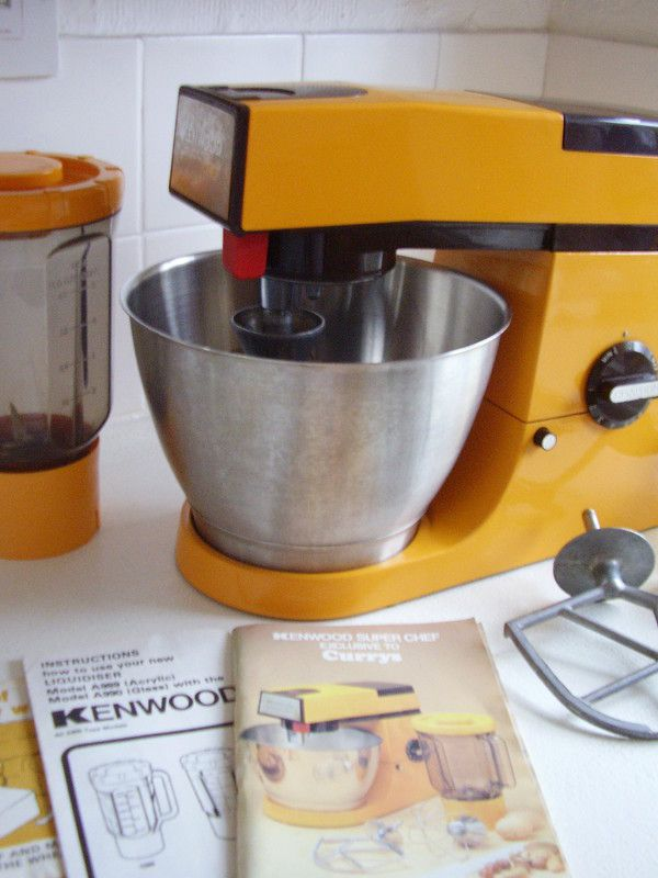 14 best kenwood chef a701 images on pinterest restore baking kenwood super chef a901 mixer liquidiser steel bowl orange limited edition listing in the food asfbconference2016 Images