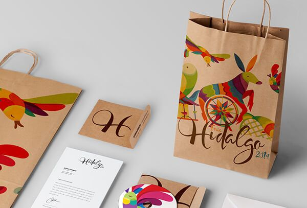 """Diego Leyva and Alfonso Cervantes designed this colorful branding project, it is a proposal for 2014 HIDALGO State Fair. """"The concept was to c"""