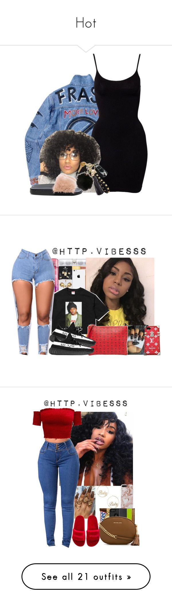 """""""Hot"""" by shantee601 ❤ liked on Polyvore featuring Magic, Givenchy, MCM, adidas, Louis Vuitton, MICHAEL Michael Kors, Ivy Park, Forever 21, Retrò and OneTeaspoon"""