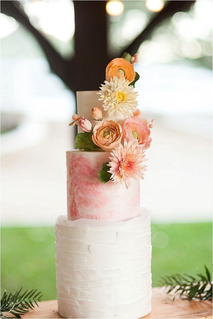 Orange and Pink Spring Wedding Ideas