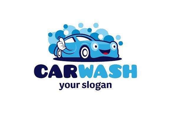 Car Wash Logo by brandphant on @creativemarket | Logo Design