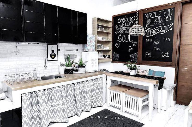 35 Desain Dapur Minimalis Sederhana dan Modern Terbaru 2017 | Dekor Rumah