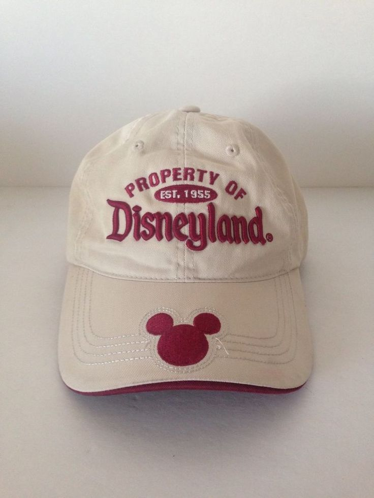 Disneyland Resort Property of Disneyland Baseball Cap Hat 100% Cotton One Size