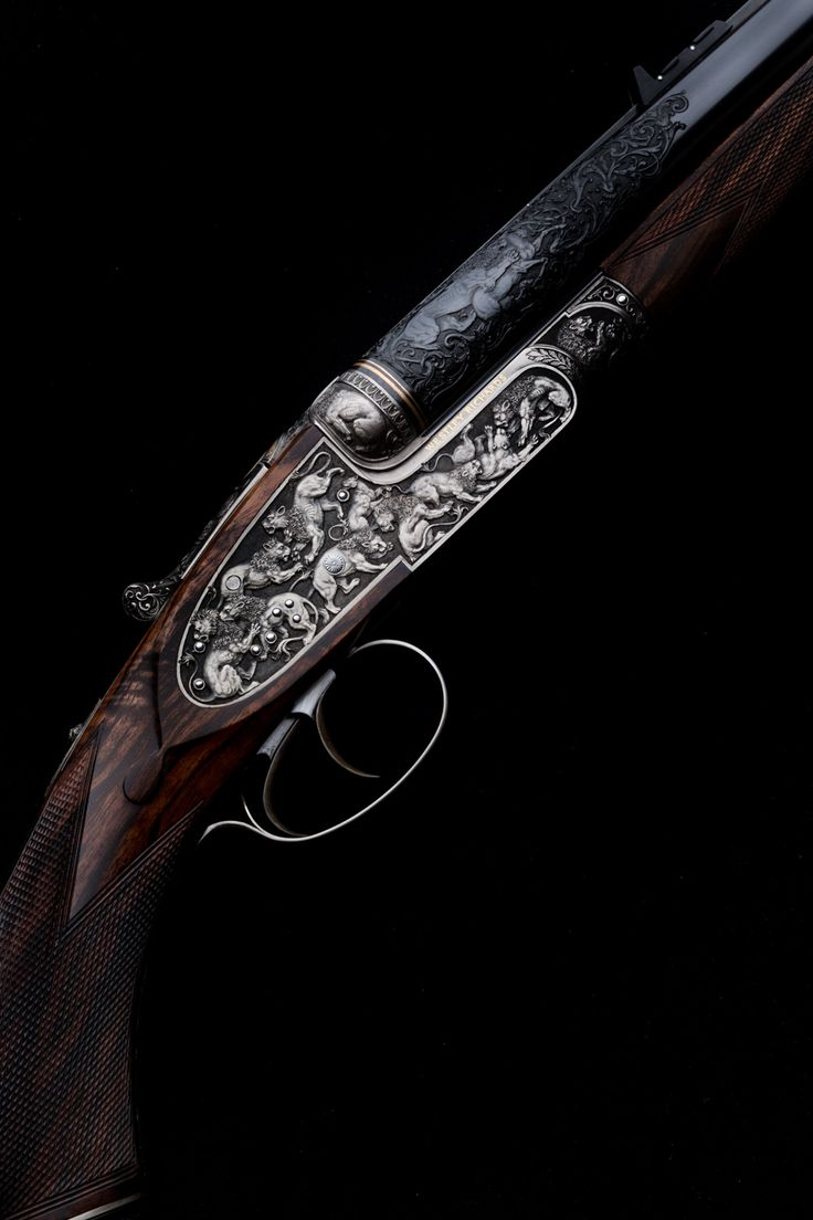 Westley Richards, Lion Rifle, 470 Sidelock