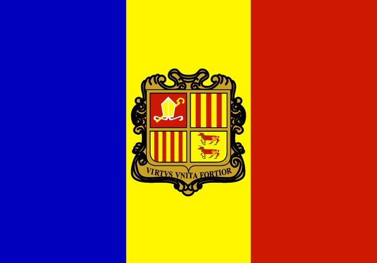 Andorra Flag | Country Andorra Flag
