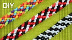 M Rag Rug Friendship Bracelet / DIY Tutorial …