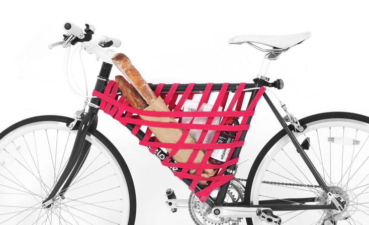 reel elastic bike frame storage system by areum jeong