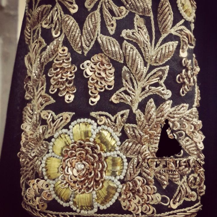 Best zardozi images on pinterest couture embroidery