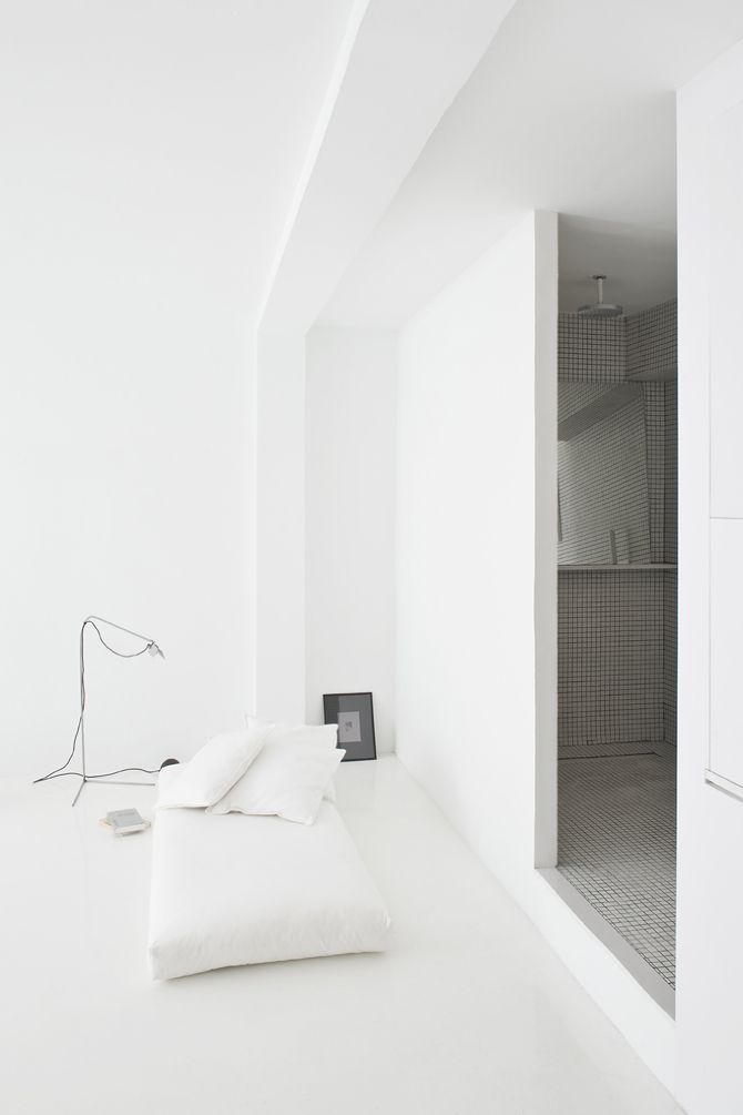 The White Retreat, Sitges, Spain - CaSA - Colombo and Serboli Architecture FLOOR