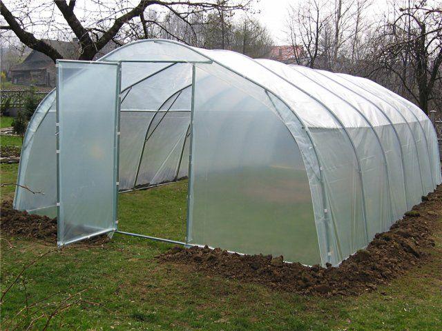Tunele foliowe ogrodnicze - metalowe