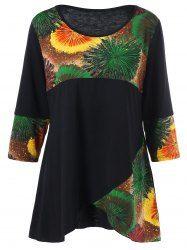 Tie-Dye Plus Size T-Shirt