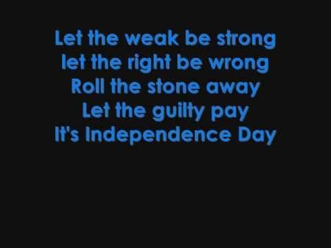 Martina McBride - Independence Day lyrics - YouTube I remember hearing this song all the time growing up and love still hearing and listening to it today though has a very sad meaning and message behind it <3