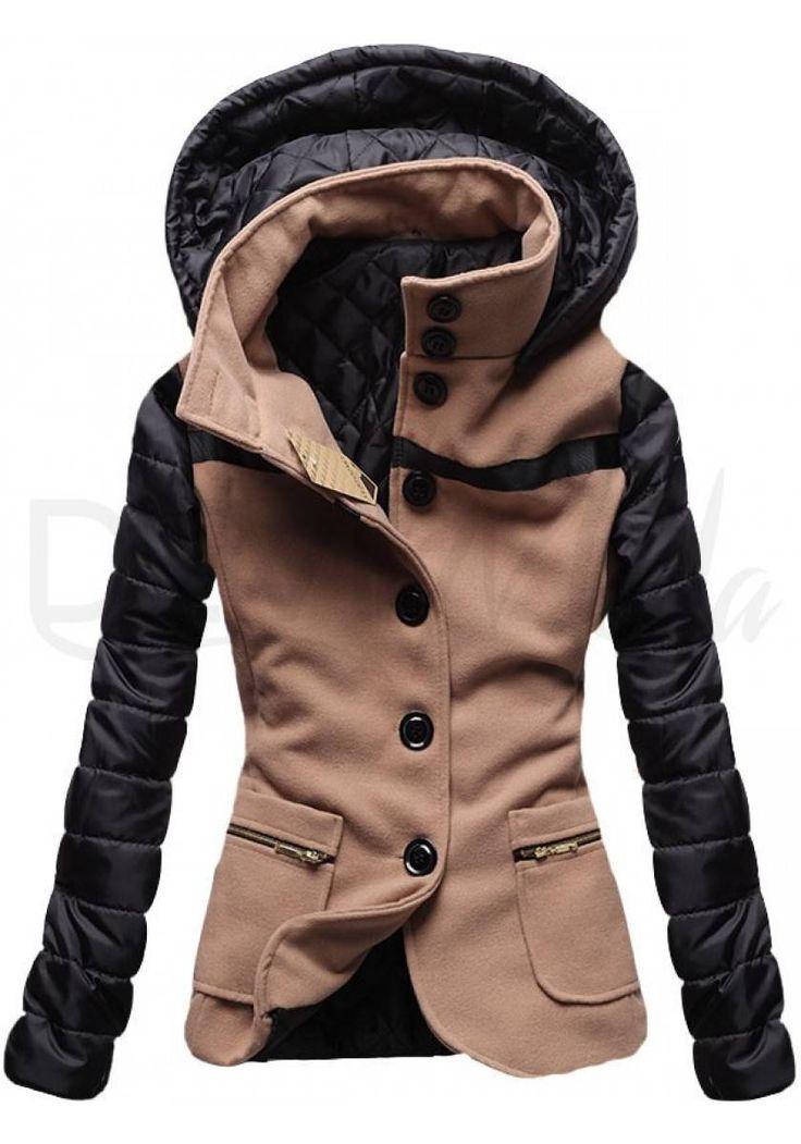 Kabát 2102 camel